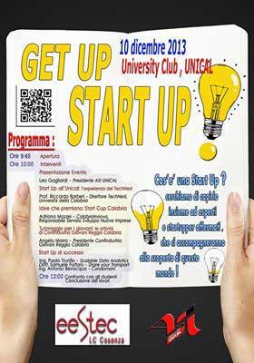 L'Associazione Studenti di Ingegneria dell'UniCal presenta l'evento Get Up! Start Up!