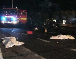 Villapiana: incidente stradale, due giovani perdono la vita